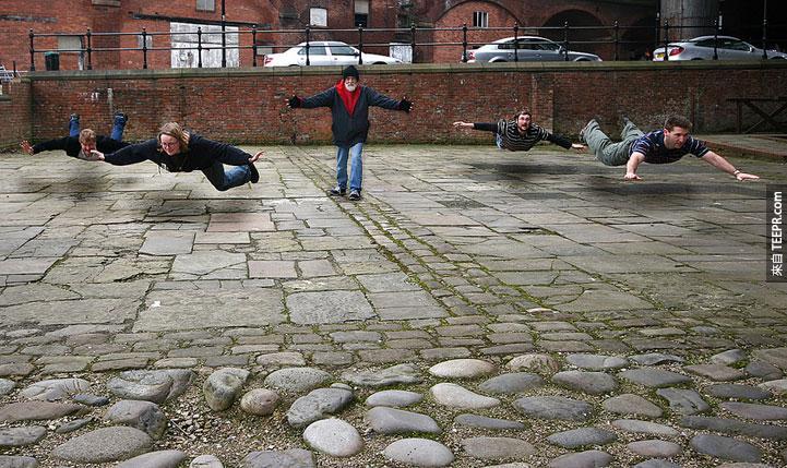 19.) Go my minions! - Manchester, England
