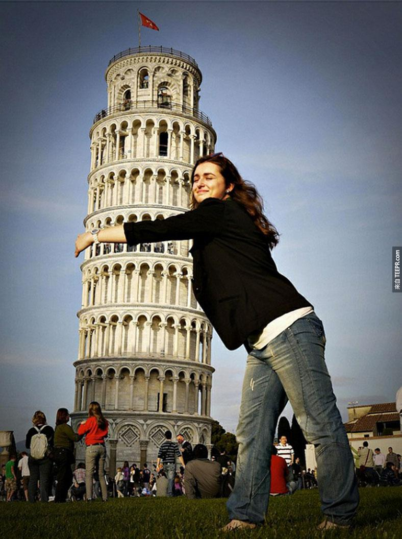 21.) Of course we had to include the Leaning Tower of Pisa. - Pisa, Italy