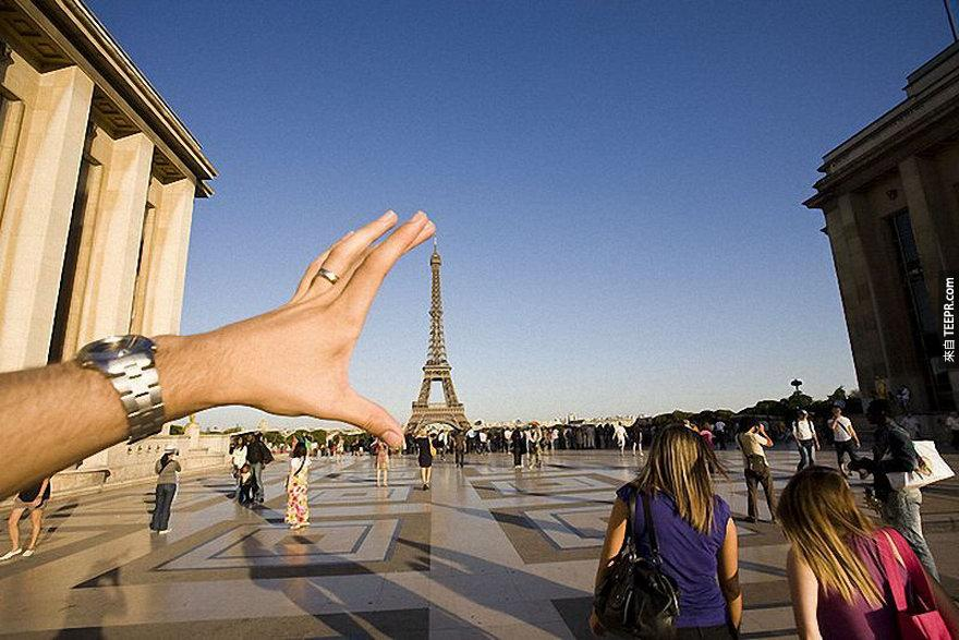 25.) Don't forget about the Eiffel Tower. - Paris, France