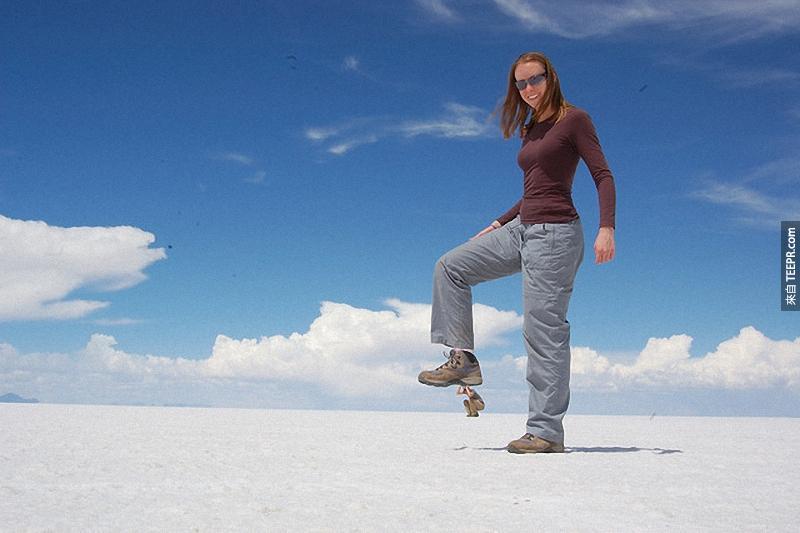 3.) Hold on tight! - Salar de Uyuni, Bolivia