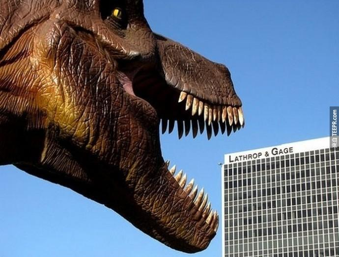 7.) Straight out of Jurassic Park. - Kansas City, Missouri