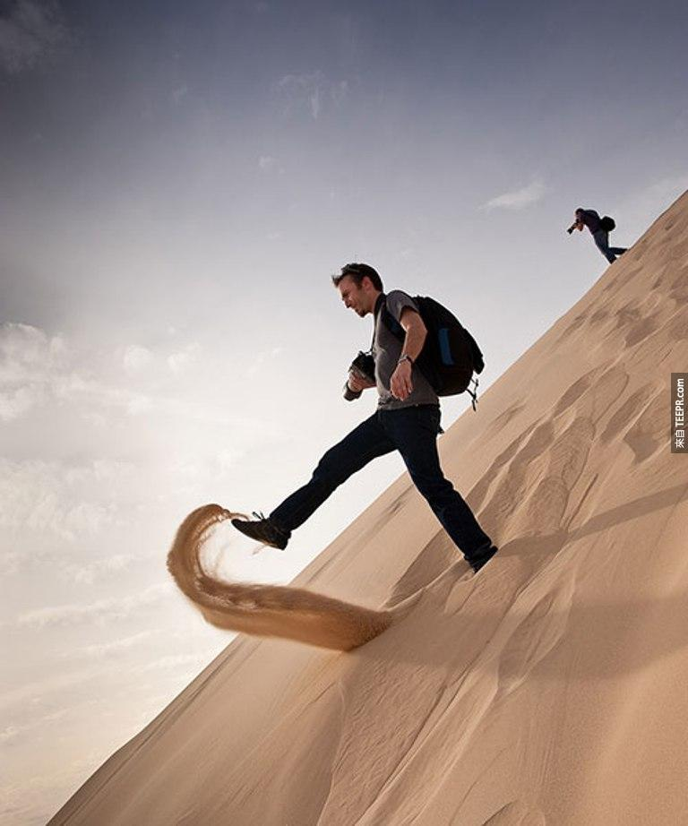 8.) He's a giant. - Mojave Desert, California