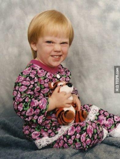 30個全歷史最尷尬的嬰兒照。怎麼會有人把這些放上網?!