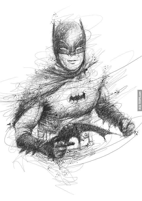 Scribble Drawings 4