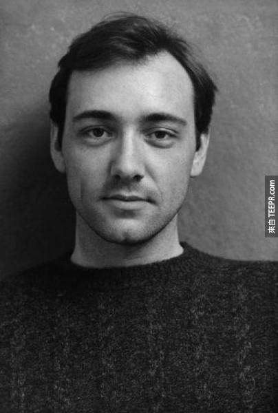 一位年輕的凱文·斯派西(1980)。
