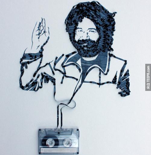 太酷了!這個人把沒有人要的老舊錄音帶變成大家都想要的傑作。
