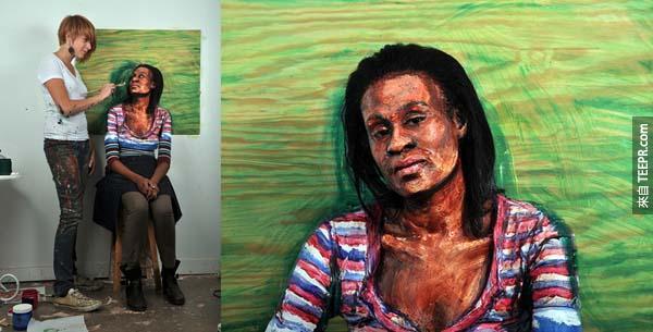 有很多繪畫科技一直專注在讓 2D 影像轉化成 3D 影像。