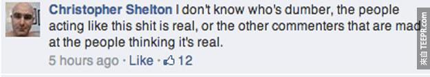 你一定會很傻眼,但是很多Facebook的網民以為史蒂芬‧史匹柏獵殺了一頭三角龍。