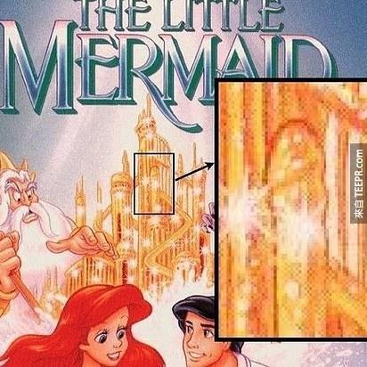 你可能看過《小美人魚》N次,但你一定沒有注意到這一件事情。