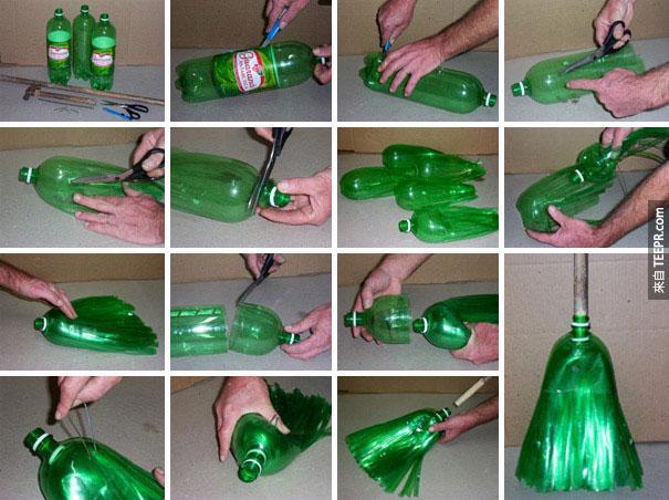 不要再把寶特瓶丟掉了!它們還有23種你不能不知道的超棒用處!