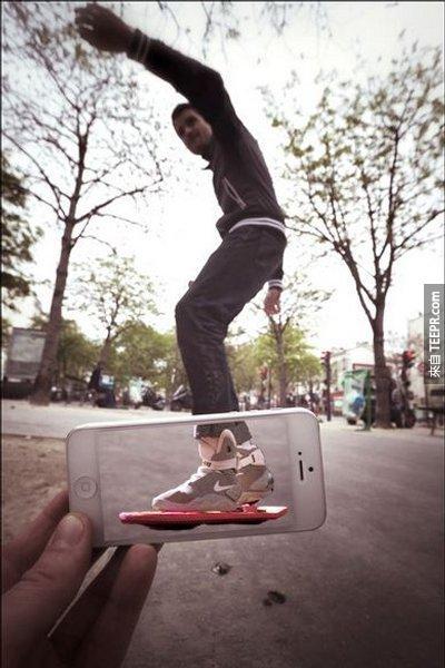 retour futur skate