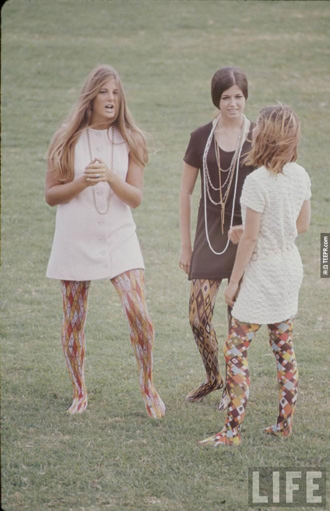 在生活雜誌(1969年)高中的時尚功能。