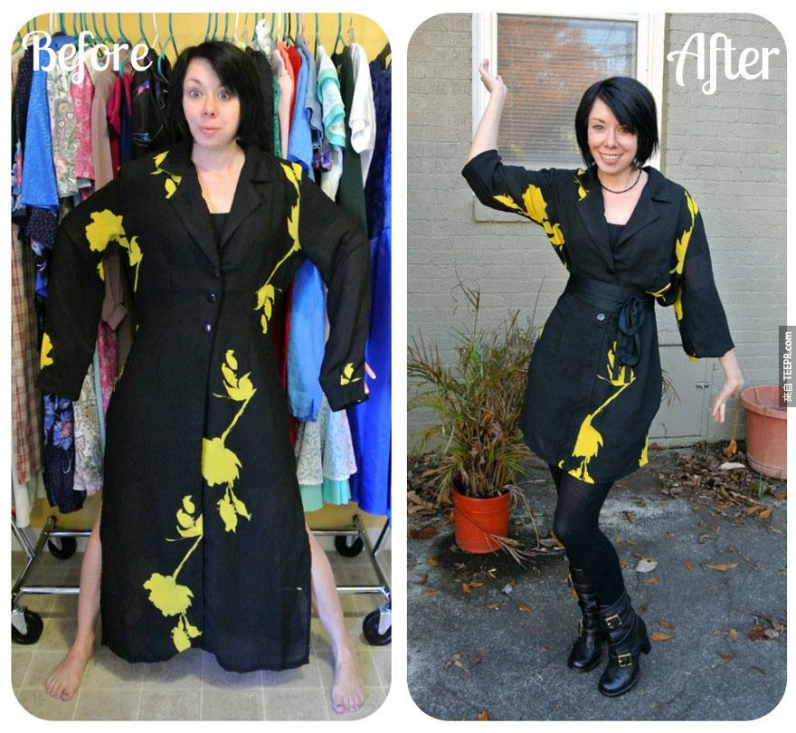 女士們有福了!有很多不穿的舊衣服嗎?這就是你怎麼把它們變成時尚又高級的服飾!