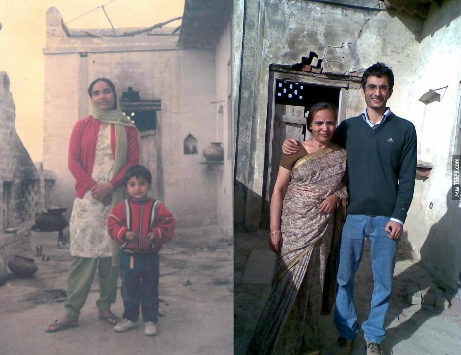 """""""妈妈和我, 21年之后"""""""