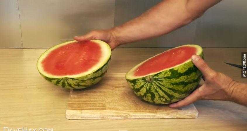 吃西瓜的方法