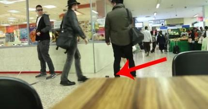 這個人偽裝成盲人,就為了實驗看看誰會偷他的錢包。結果沒有你想像得這麼美好。