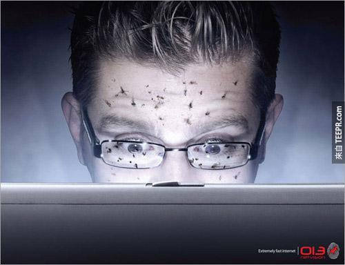 013 Netvision(网路服务业者):超快网路。(车子快到都把砂土喷到脸上了)