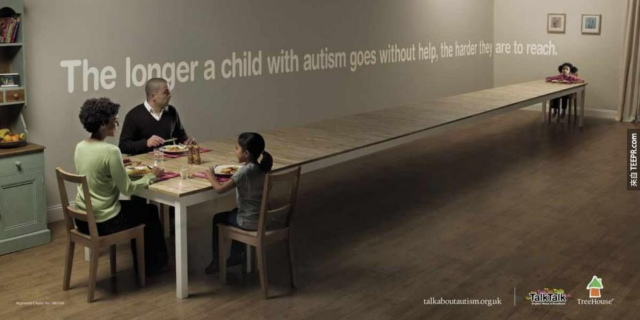 30. 自閉症的孩子越慢得到幫助,他們就會越來越遙遠。