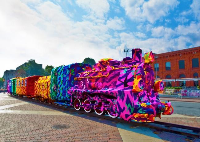 每座城市都需要這些讓人看得目不轉睛的街頭藝術。