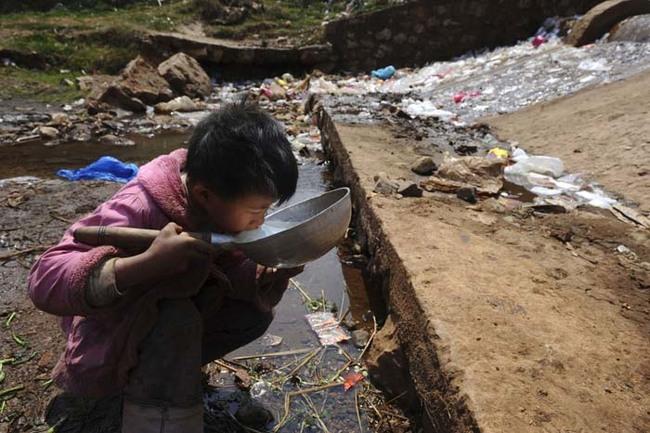 在溫州,因為產業快速的發展,導致供水全面受到破壞。