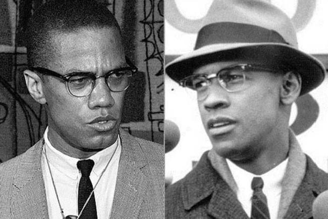 24.)丹佐·華盛頓( Denzel Washington )飾演過伊斯蘭教教士、美國黑人民權運動領導人物之一麥爾坎·X(    Malcolm X )。