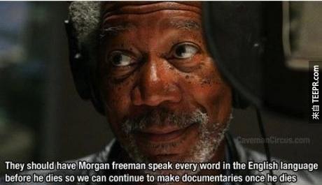 摩根費里曼聲音