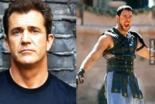 10. 想像梅爾·吉勃遜(Mel Gibson)當神鬼戰士(Gladiator)的主角?其實蠻適合的啦!