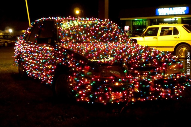 4.) 這只適用於聖誕節吧老兄!