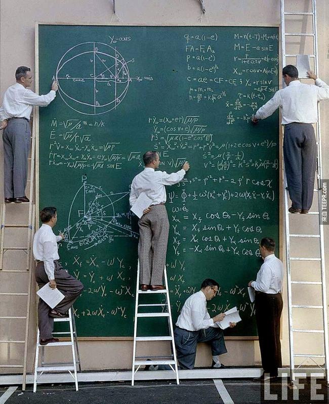 39.) NASA 科學家, 1961。