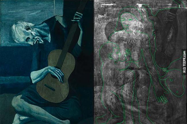 這5件知名畫作背後隱藏著不可思議的真相。用X光才看得到!