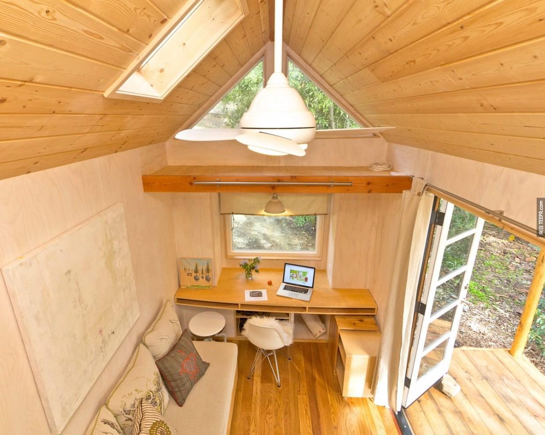 房子越大越好嗎?這5個「超可愛」的小房子會顛覆你的想法。