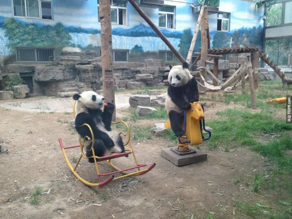 孩子們,一起來遊樂場玩耍吧!