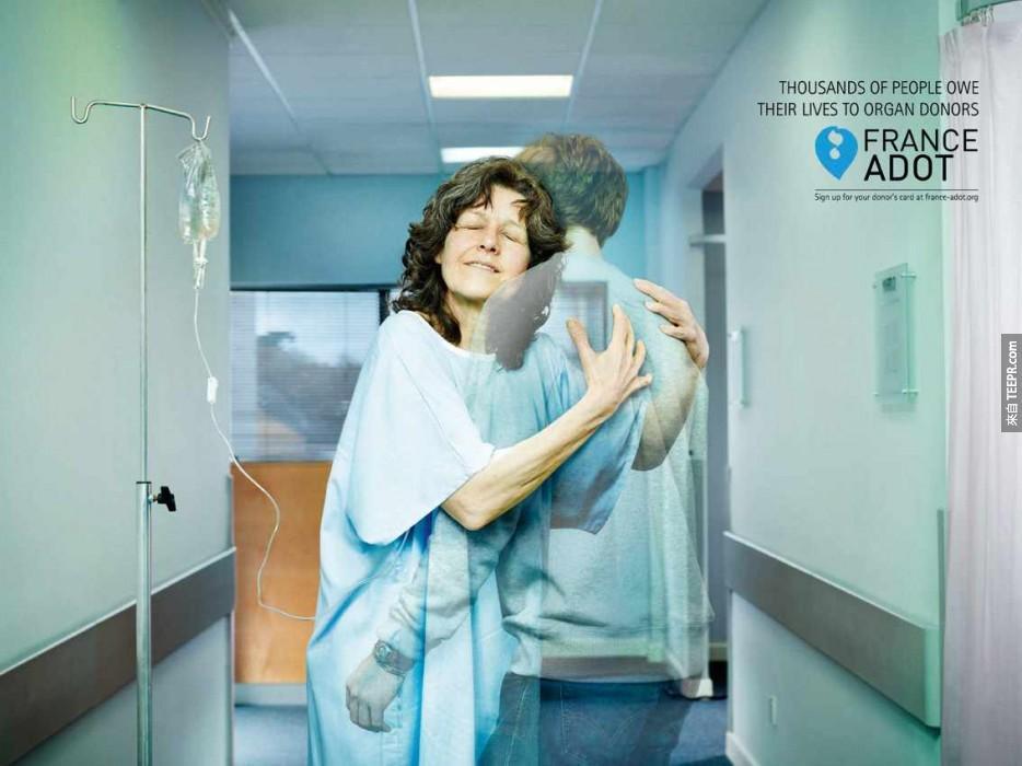 21. 上千人的肝都歸功於器官捐贈。