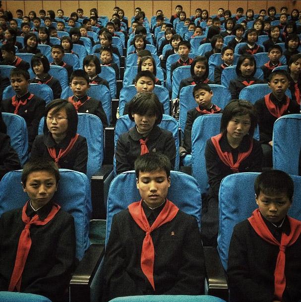 出席演唱會的學生們。