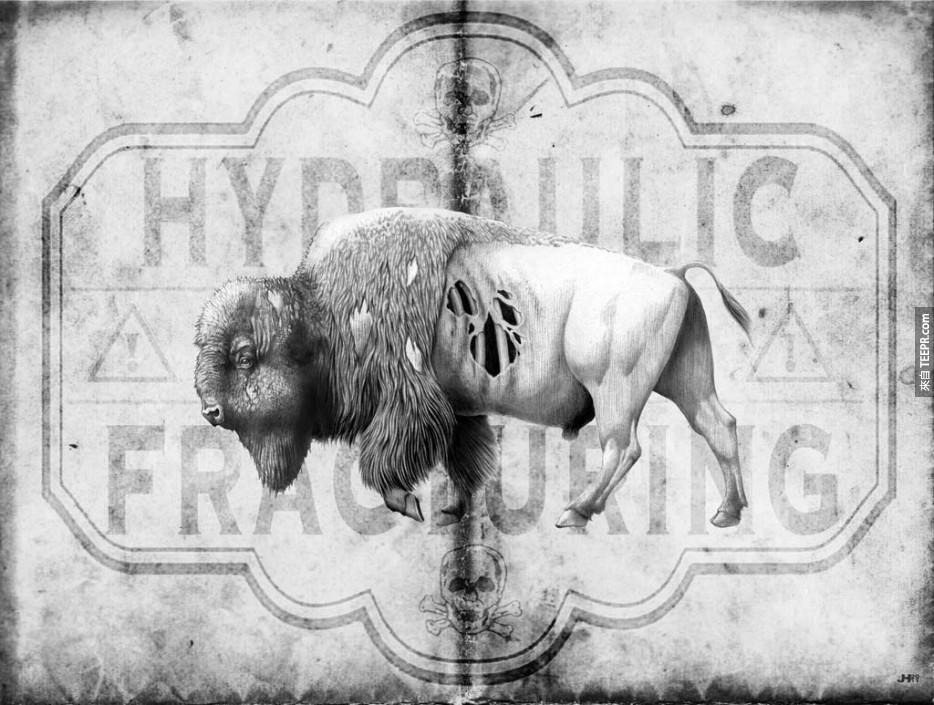 你一定要看看這 36 個在為了地球奮鬥的街頭藝術。