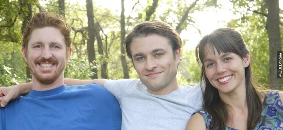這是John、Jack和Marta,這三位來自德州奧斯丁好朋友,他們看起很普通,對吧?