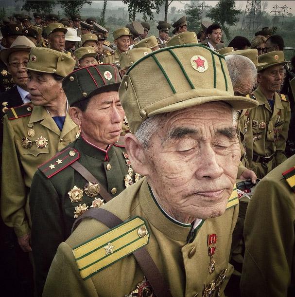 朝鮮戰爭的退伍軍人。