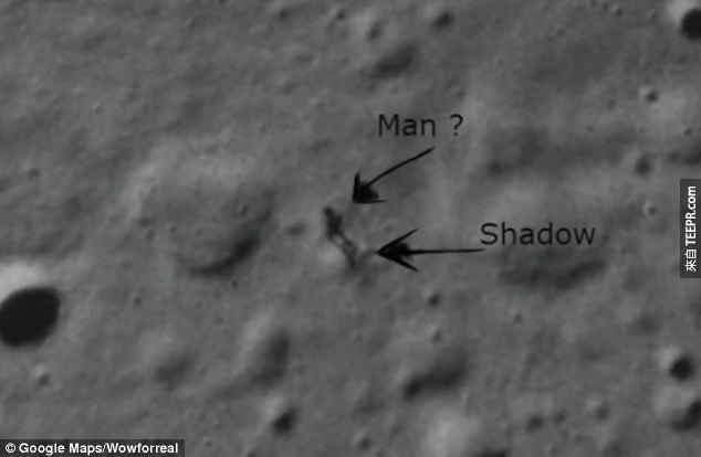 這並不是Wowforreel在研讀Google的月球系列後,第一次發現奇怪的東西。