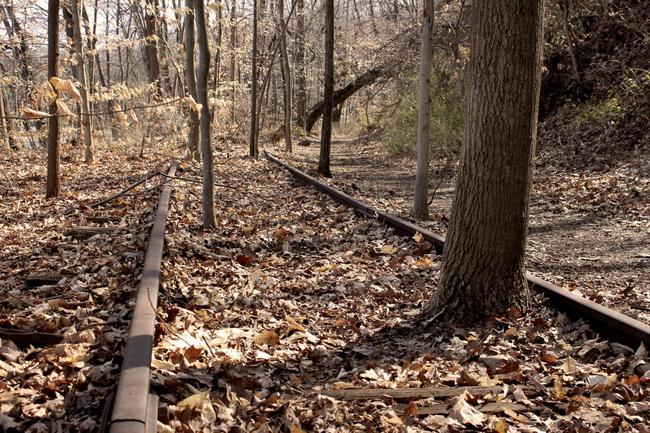 G再見了鐵路,大自然已經回到這個小鎮了!