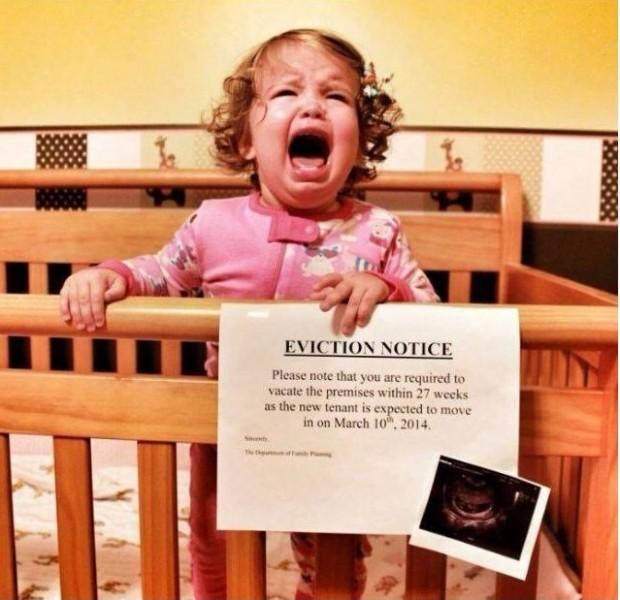 這16對準父母用最逗趣的方式宣布小寶寶的到來。