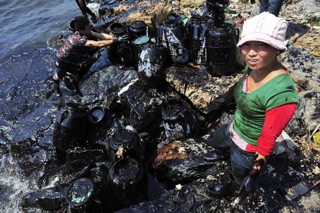 漏油事件時常發生在世界各地,這除了會破壞自然生態還會製造有毒的飲水。