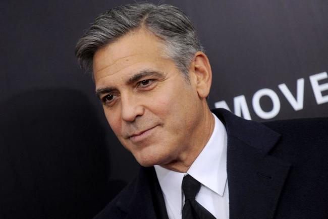 2.)喬治克隆尼( George Clooney )