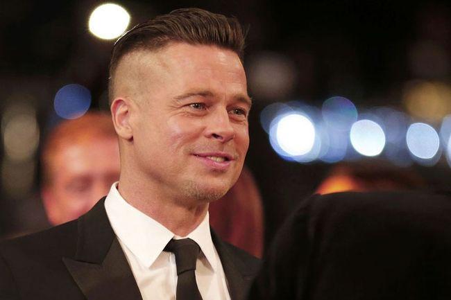 7.) 布萊得彼特( Brad Pitt )