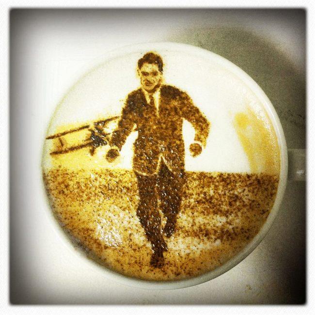 20個會讓你捨不得喝的咖啡泡沫藝術。#1怎麼可能捨得喝?!