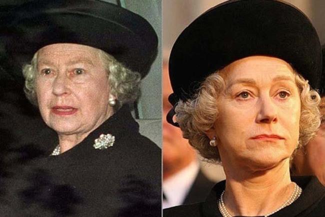 25.) 海倫·米蘭( Helen Mirren )在電影《黛妃與女皇》中飾演伊麗莎白二世( Queen Elizabeth II )。