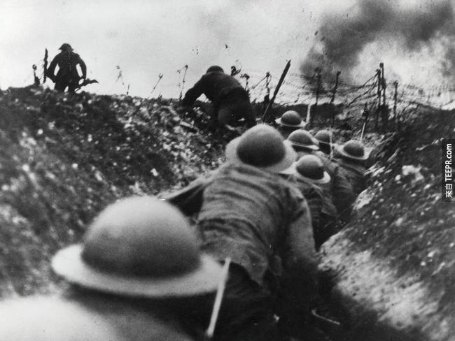 第一次世界大戰比第二次的還要瘋狂太多了。這些照片會嚇到你。