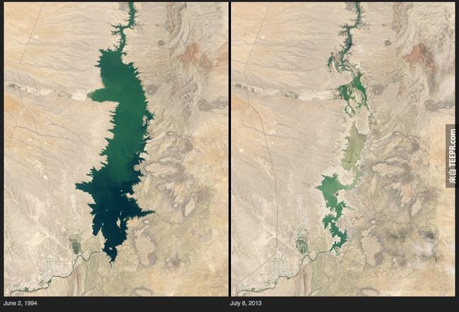 7)變更湖 - 新墨西哥州