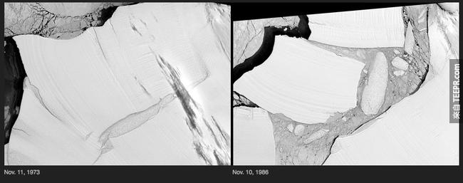 14)冰架產犢 - 南極