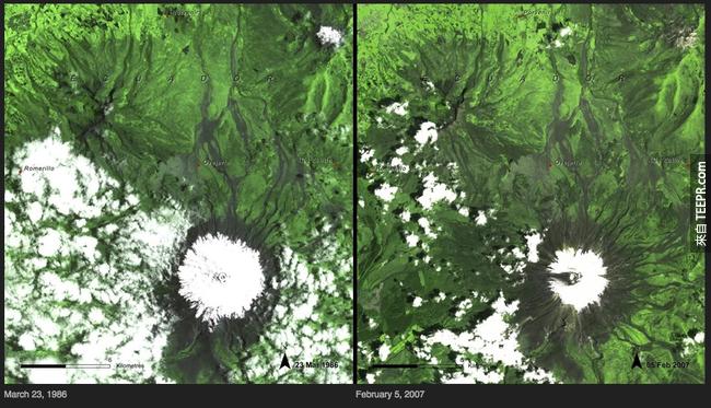 13)冰融化 - 厄瓜多爾