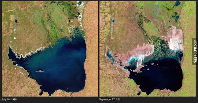 18)湖變化 - 阿根廷